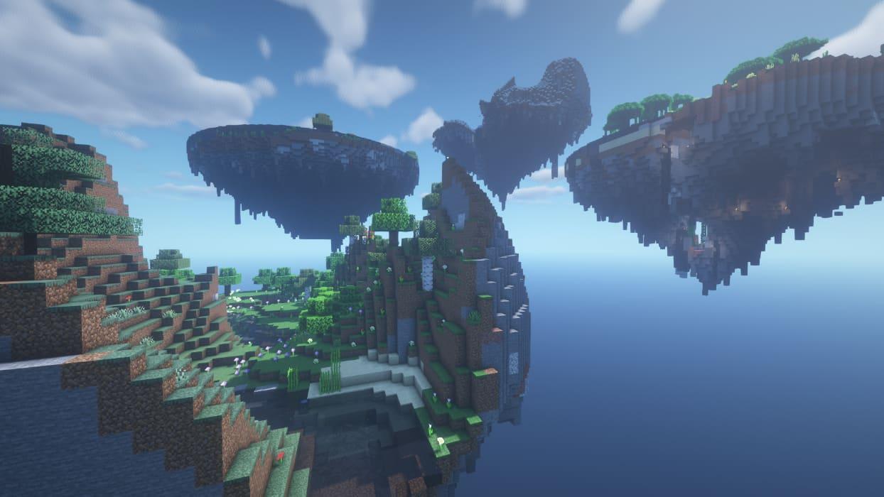 islas voladoras skyrpg skyblock 1.17